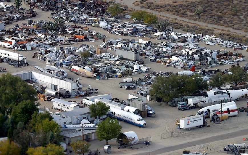 Abandoned & Little-Known Airfields: California: Southern Palmdale area