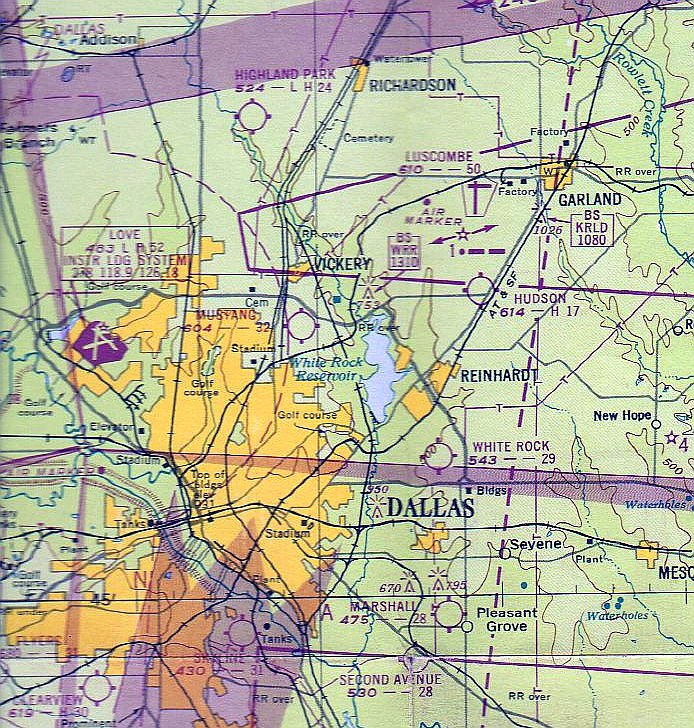 Abandoned & Little-Known Airfields: Texas, Eastern Dallas Area