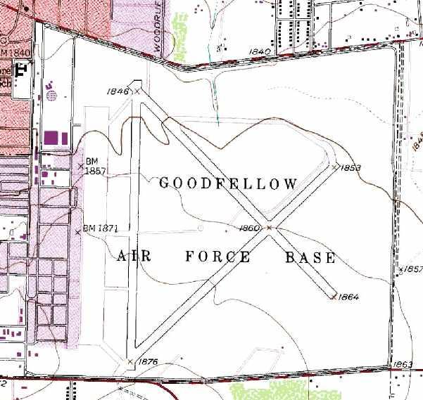 Abandoned & Little-Known Airfields: Texas, Western Abilene